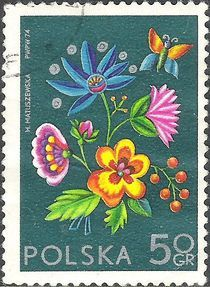 Poland 1974 Philatelic Exhibition Socphilex IV - Flowers - Stamps of the World
