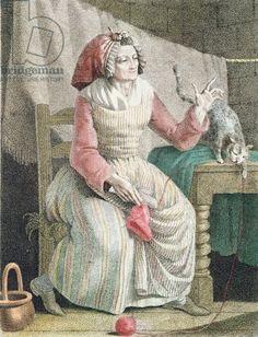 French School (c.1789). Madame sans culotte