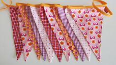 Girlanden & Wimpelketten - Wimpelkette Wimpelgirlande - ein Designerstück von Hokuspokuss bei DaWanda