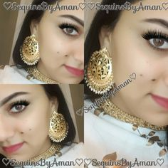 To purchase contact us via aman7397@hotmail.com or simply follow sequinsbyaman on istagram/fb. India Jewelry, Gold Jewelry, Jewelery, Indian Wedding Jewelry, Bridal Jewellery, Indian Jewellery Design, Jewellery Designs, Gold Bangles, Gold Rings
