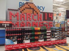Since you guys liked the other Coke display.