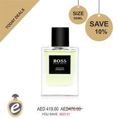 BOSS The Collection Cotton & Verbena Hugo Boss Eau De Toilette for men 50ml