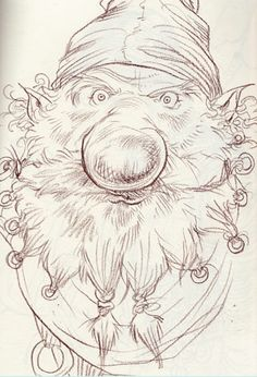 Chris Riddell's final dwarf