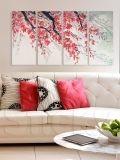 ΤΕΤΡΑΠΤΥΧΟΣ ΠΙΝΑΚΑΣ BLOSSOM BRANCH Beautiful Places To Live, Wall Stickers, House Warming, Sweet Home, Canvas Prints, Tapestry, Hair Inspiration, Giveaway, Colour