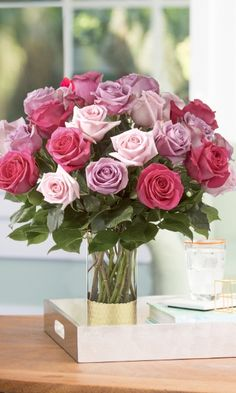 Save and spread a little love this spring - schedule a delivery for your loved one today! Spring Flower Arrangements, Rose Arrangements, Spring Flowers, Beautiful Roses, Beautiful Flowers, Wedding Bouquets, Wedding Flowers, Wedding Centerpieces, Wedding Decorations