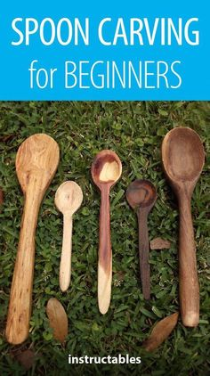 Spoon Carving for Beginners #woodworking #WoodPlansStorageSheds
