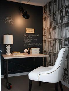 10 ideias criativas para usar a parede lousa em casa