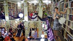 I want to attend a salon at the Providence Athenaeum in R.I!!!! This looks awesome
