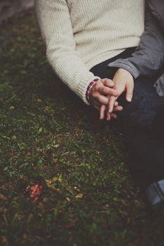 I love holding hands :)