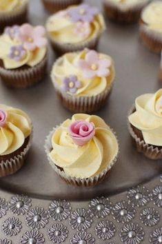 The Cheltenham Cakery Summer Wedding Cupcakes, Wedding Cakes, Cupcake Recipes, Cookie Recipes, Swiss Meringue Buttercream, Puff Pastry Recipes, Cream Cake, Ice Cream, Cream Recipes