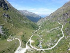 Vue depuis le barrage de Moiry, Valais, Suisse