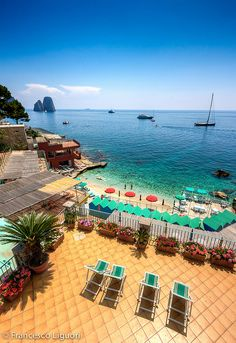 Capri, Italy: tried to go here during the summer but a strong wind prevented our trip :-( Places Around The World, The Places Youll Go, Places To See, Around The Worlds, Positano, Dream Vacations, Vacation Spots, Capri Italia, Dreamland