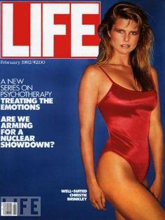 Christie Brinkley - Life Magazine, Feb. 1982