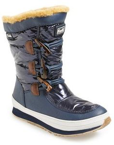 Pin for Later: The 18 Absolute Best Boots, Because Winter Is Coming Keds Waterproof Winter Boot Keds Powder Puff Waterproof Winter Boot (Women) (£57)
