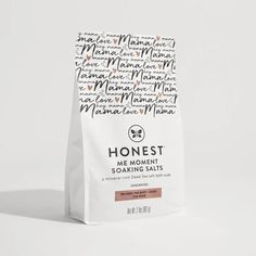Honest Co. dead sea salt bath and mineral soak for pregnancy