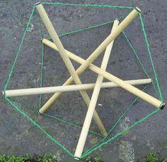 HexDome - Pentagonal prism tensegrity