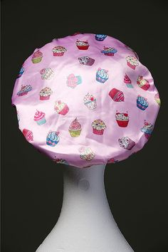 NEW Cupcakes Microfibre Waterproof Shower Cap Ultra Protective Bath Hat Hair Accessory Shower Cap, Shower Time, Luxury Hair, Good Hair Day, Hat Hairstyles, Everything Pink, Caps For Women, Protective Hairstyles, Hair Accessories
