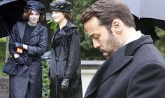 Hannah and Kara Tointon join Jeremy Piven in Mr Selfridge at funeral
