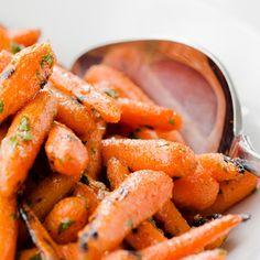 Apple-Glazed Baby Carrots: Cinnamon, apple, and lemon add wonderful ...