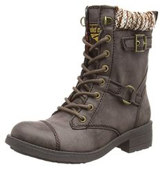 Rocket Dog THUNDER, Damen Biker Boots, Braun (BROWN C00), 41 EU (8 Damen UK) - Stiefel für frauen (*Partner-Link)