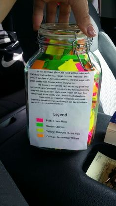 365 Reasons Love Jar