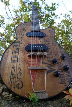 Schoen Guitars: Old Richland Electric Guitar