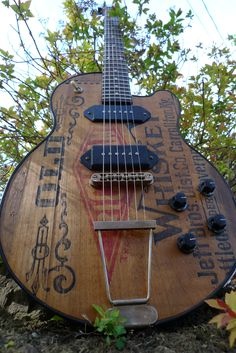 Schoen Guitars: Old Richland Electric #oneofakind #electric #guitar