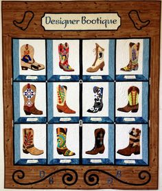 Designer Bootique by Holly H. Nelson | Holly Quilts.  Pattern available.