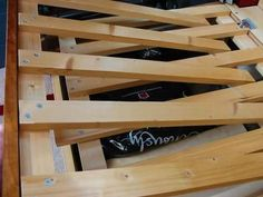 sofa to bed slideout - slat system
