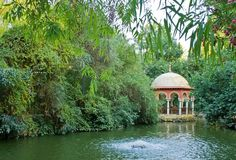 Maria Luisa Park in Seville, Spain