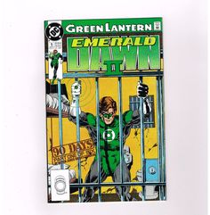 GREEN LANTERN EMERALD DAWN II 6-part Copper Age series from DC Comics! http://www.ebay.com/itm/-/301263624634?roken=cUgayN
