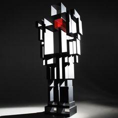 Etagère Bibliothèque Design Robox, -  Marque : Casamania, Designer : Fabio Novembre