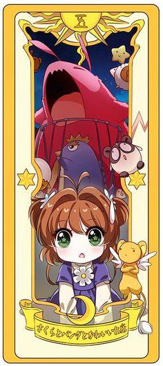 Sakura, Kero y la carta del salto