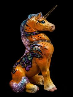 "Windstone Editions ""Grab Bag Edition"" Young Unicorn Figurine ""Fusion"" 