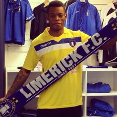 Limerick FC have just completed the re-signing of Patrick Nzuzi for the 2014 season. Squad, Company Logo, Seasons, Logos, Seasons Of The Year, Logo, Classroom, Manga