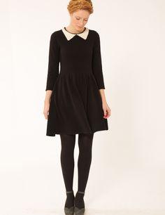 Lowie : Winters friend dress - Black