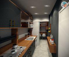 Projeto do escritório Atelier da Reforma. Cozinha Perdizes