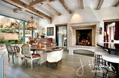 How to Distress  and Finish Wood Beams in 3 Steps