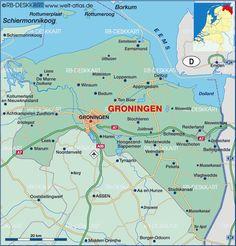Map of Groningen Attractions | PlanetWare | DIY | Pinterest ...