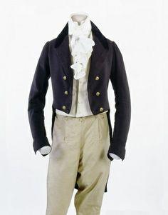 men federalist era/regency Inkwell Inspirations: Historical Fashion Series-Regency