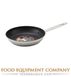 Winco SSFP12NS Premium Induction Fry Pan 12 diameter x 2 deep round  Case o >>> Read more reviews of the product by visiting the link on the image.