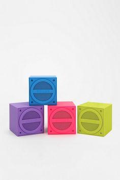 iHome Mini Wireless Speaker purple or green for homework desk Music Gadgets, Cool Tech Gadgets, Electronics Gadgets, Mini Wireless Speaker, Bluetooth Speakers, Portable Speakers, Cool Tech Gifts, Human Centered Design, Beach Toys
