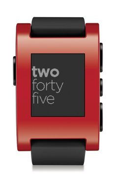 Pebble Smart Watch for iPhone and Android Devices (Red): Cell Phones  Accessories http://www.amazon.com/Pebble-Smart-iPhone-Android-Devices/dp/B00EULMBZC/ref=sr_1_12?ie=UTF8qid=1403187515sr=8-12keywords=bluetooth+kitchen