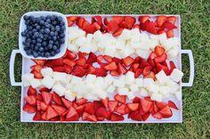Patriotic Berry Dessert