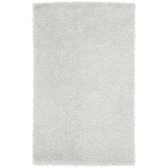 Art of Knot Columbia Hand Woven Polyester Area Rug, 5' x 8', White