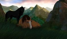 I worned you. I'm crying sharo's a devil! Spirit The Horse, Horse Animation, Horse Drawings, Fairytale Art, Horse Art, Beautiful Horses, Cute Art, Wallpaper, Fairy Tales