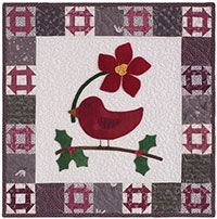 Christmas Tweet Quilt Kit from Quiltmaker, $39.99