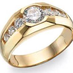 Gorgeous men's diamond ring