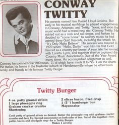 The Twitty Burger~