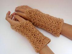 Fingerless gloves crochet fingerless mittens hand by CRAZYBOOM